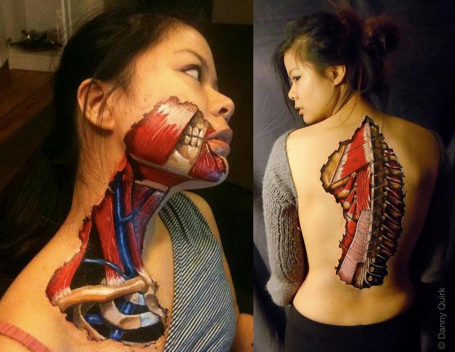 Creepy, Gross, Body Art
