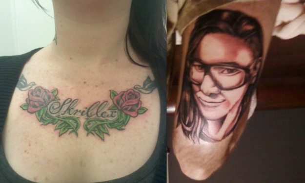 WHOA These Musician Tattoos Are Truly Unfortunate!