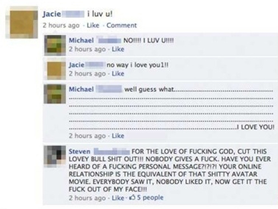 Ridiculous, Cheesy, Annoying Facebook Couples You Just Want To Slap!