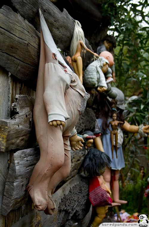 Creepy Island of the Dolls