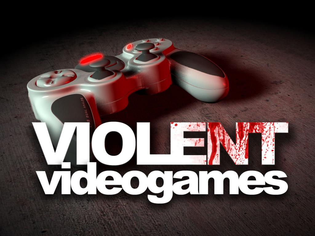 Let's blame video games for society's violent tendencies!