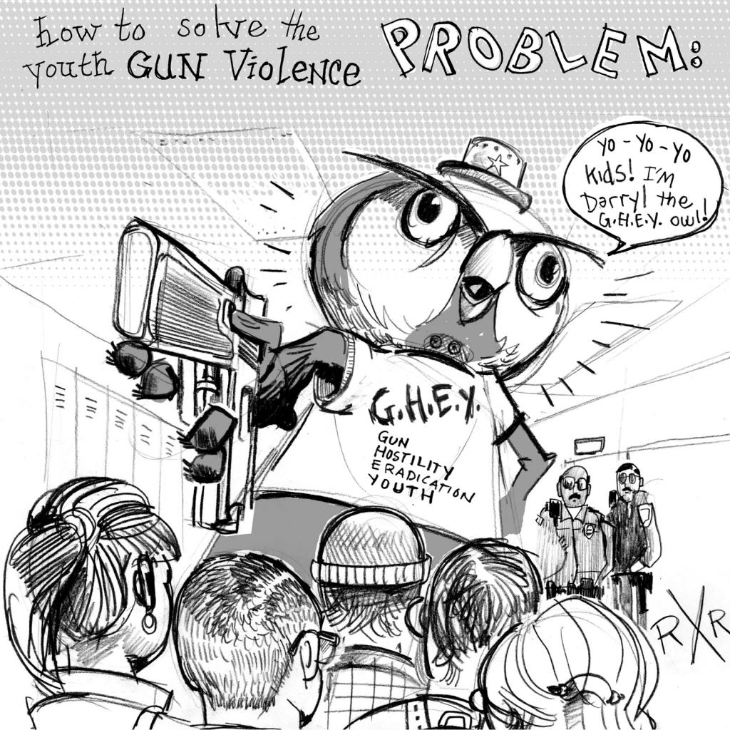 A Modest Proposal: Give the Kids Guns от Veggie за 10 jan 2013