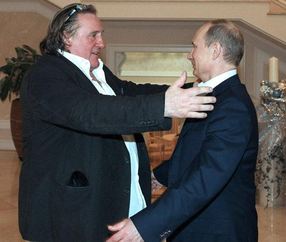 Famous French Actor Gerard Depardieu Becomes Russian от Marinara за 10 jan 2013