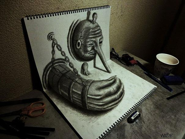 Hand Drawn 3d Graphics