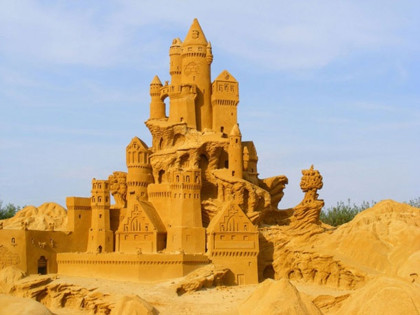 World Champion Sand Sculptor