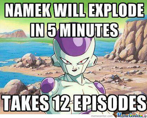 DBZ Memes. That's when you know Your Childhood is Over