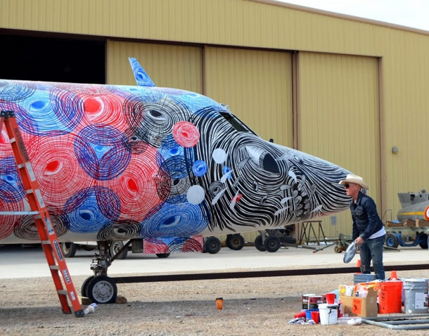 Airplanes Transformed into Beautiful Mechanical Pieces of art