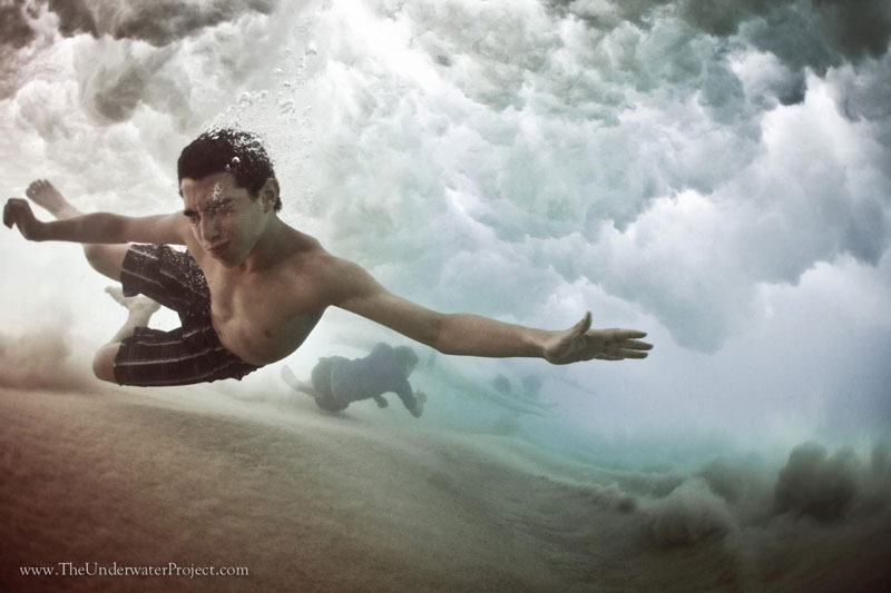 Beneath the Wave: Underwater Photos of Swimmers