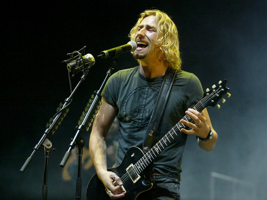 The annoying voice of Chad Kroeger.