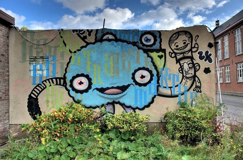The Doomed Village of Doel And Its Amazing Street Art