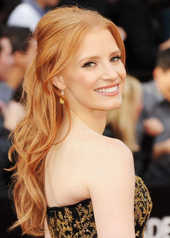 Talented, Sexy, Classy, Beautiful 2013 Best Actress Winner Jessica Chastain!