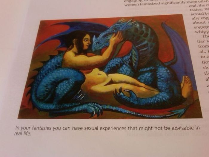 Strange Things In Textbooks