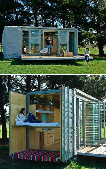 Care to Live in a Shipping Container?