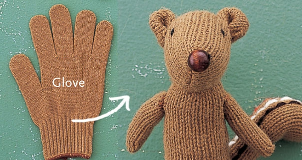 How to Turn a Glove into a Chipmunk