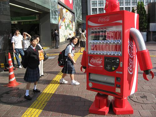 Coke Robot Vending Machine