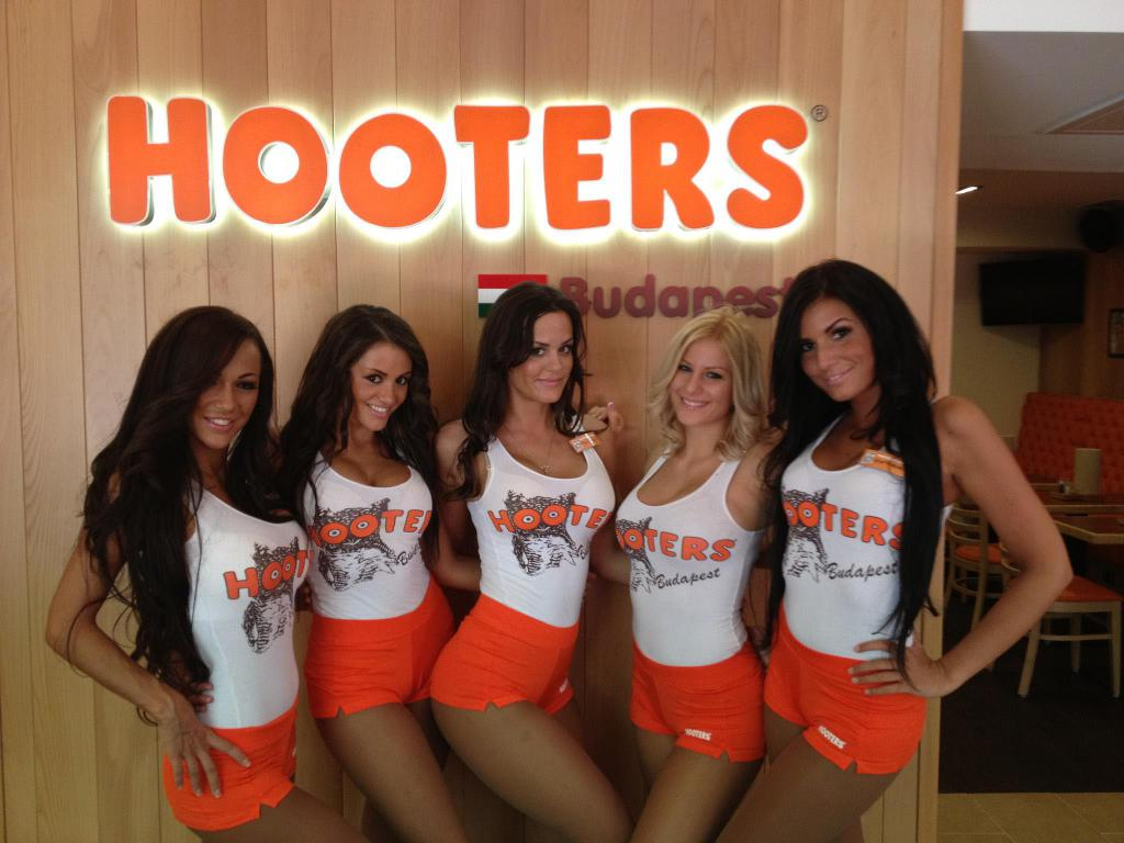 Because those girls all get hired for their excellent Hooters