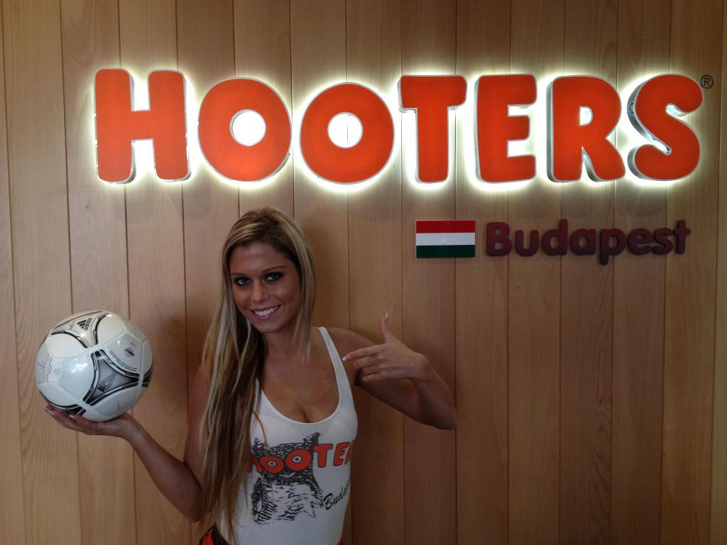 Best Restaurant in Budapest? HOOTERS