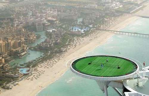 Worlds Most Awesome Tennis Court