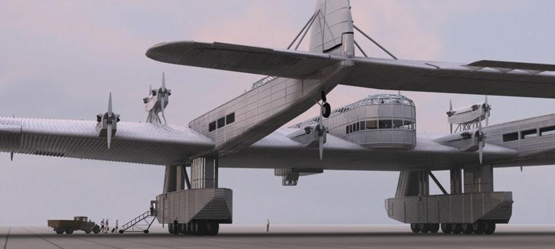 The Mega Plane That Could Have Ended WWII от Marinara за 17 jan 2013