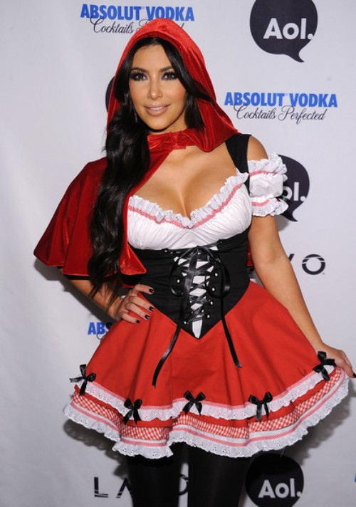 Sexiest Kim Kardashian Halloween Costumes! Which One's Your Favorite?!