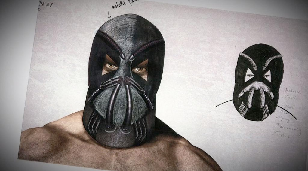 What Bane Almost Looked Like in 'The Dark Knight Rises'