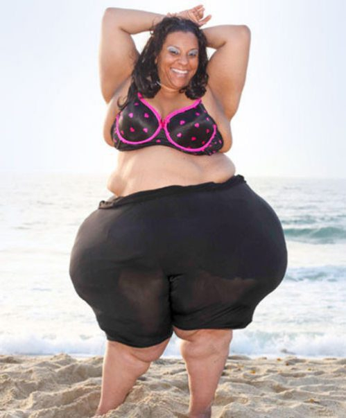 The woman with the world's widest hips
