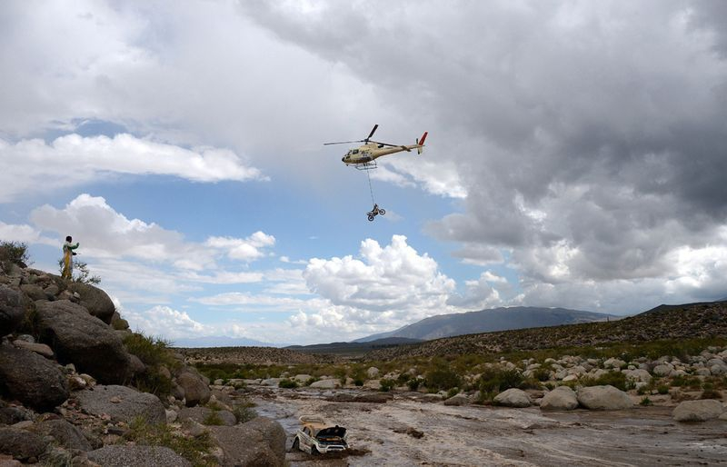 Best Pictures of Dakar Rally 2012