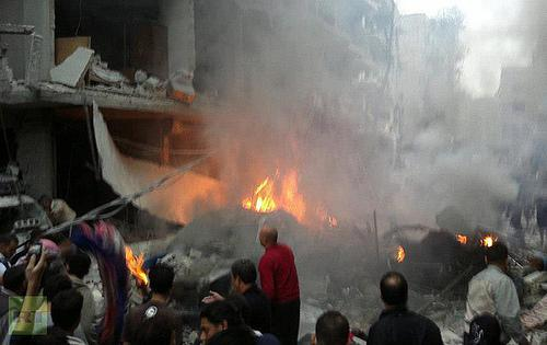 Syria Suffers Bombing: Big Whoop