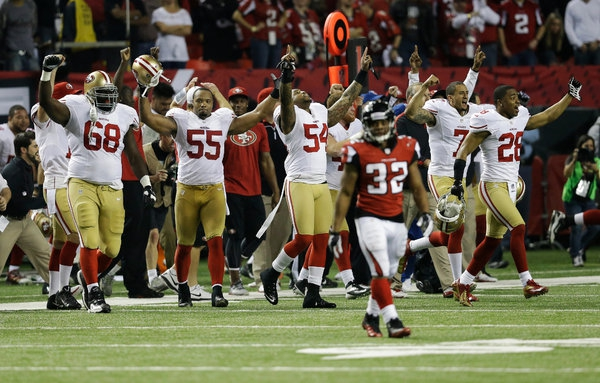 49ers Advance to Super Bowl 47