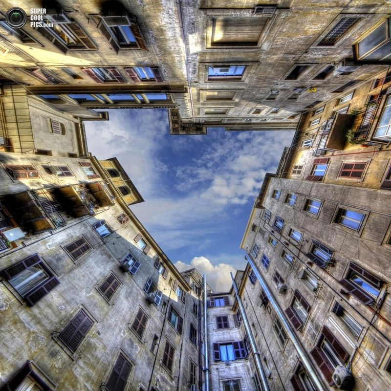 Dizzying Building by Stefano Skarselli