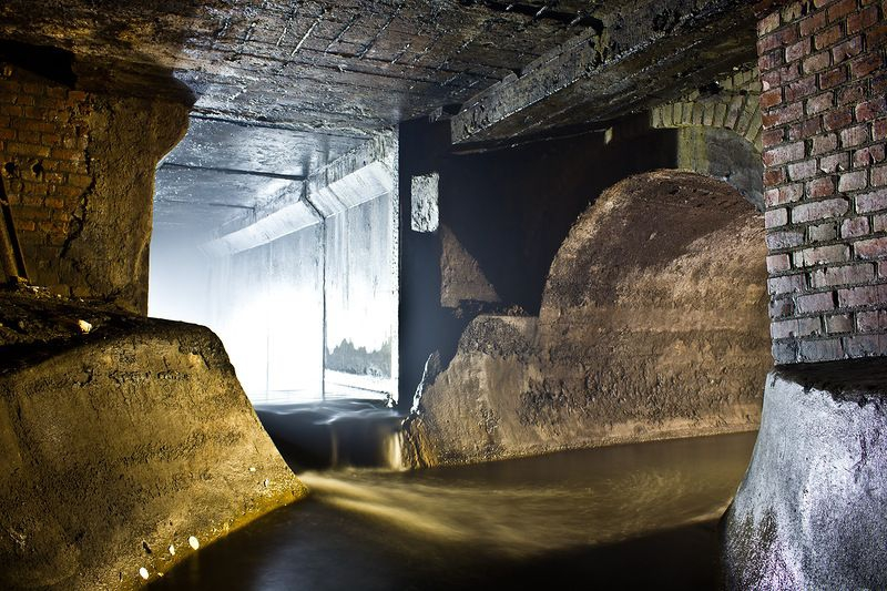 Another Underground River in Moscow