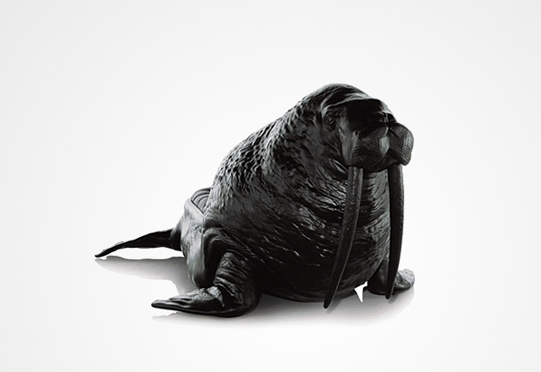 Frighteningly Realistic Animal Chairs by Maximo Riera