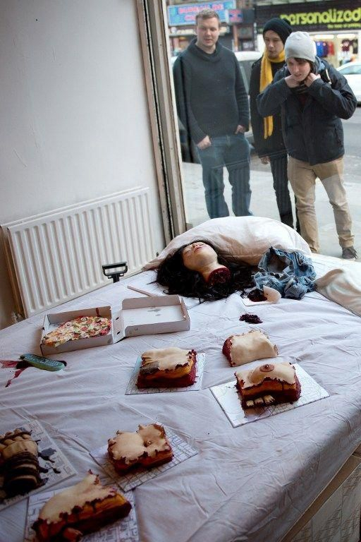 Horror Movie Edible Installation