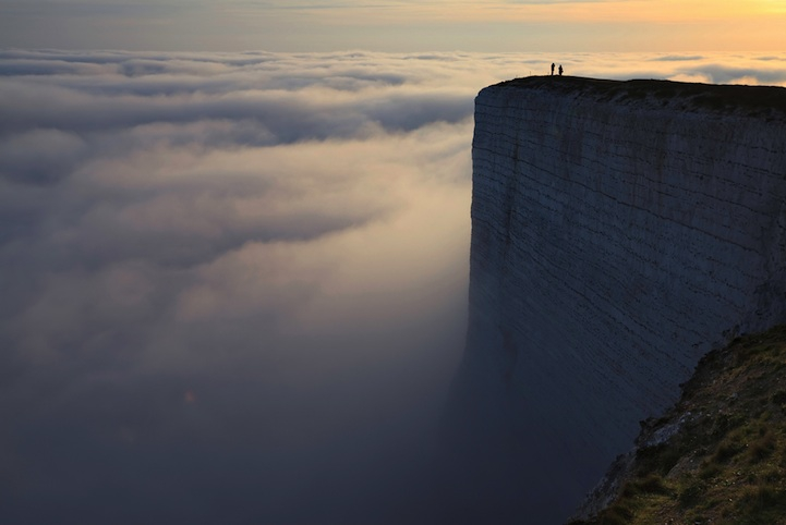 England's Breathtakingly Beautiful Chalk Cliffs