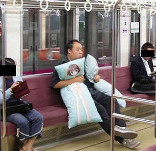 Strange Passengers of Public Transport