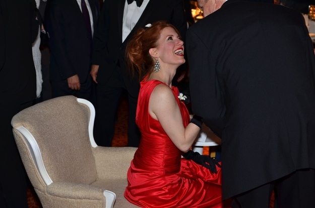 Spicing It Up At The Inaugural Ball. Not A Good Idea!