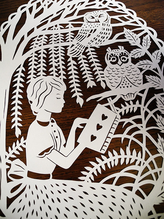 Enchantingly Intricate Papercuts Inspired by Fairy Tales