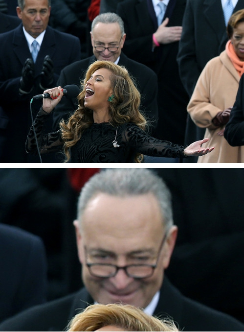The Most Fabulous Beyoncé Moments From The Inauguration
