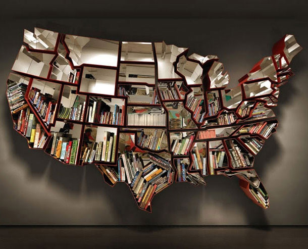 Insanely Cool Bookshelves You'll Want To Own