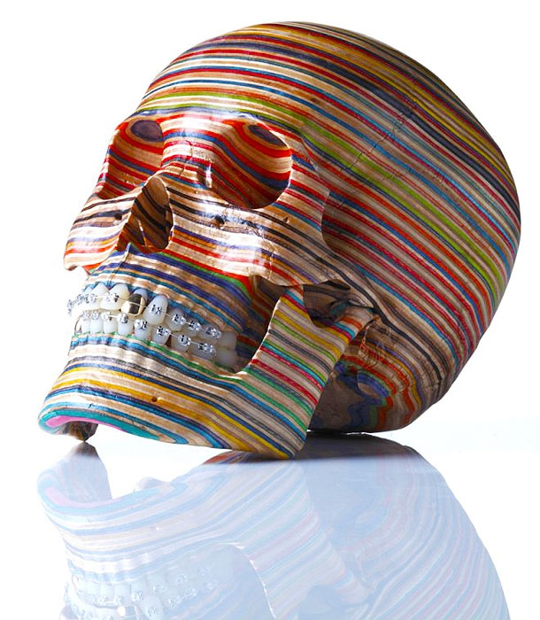 Skateboards Transformed Into Immensely Beautiful Sculptures