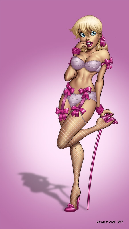 Awesome Geeky Pin-Up Art!