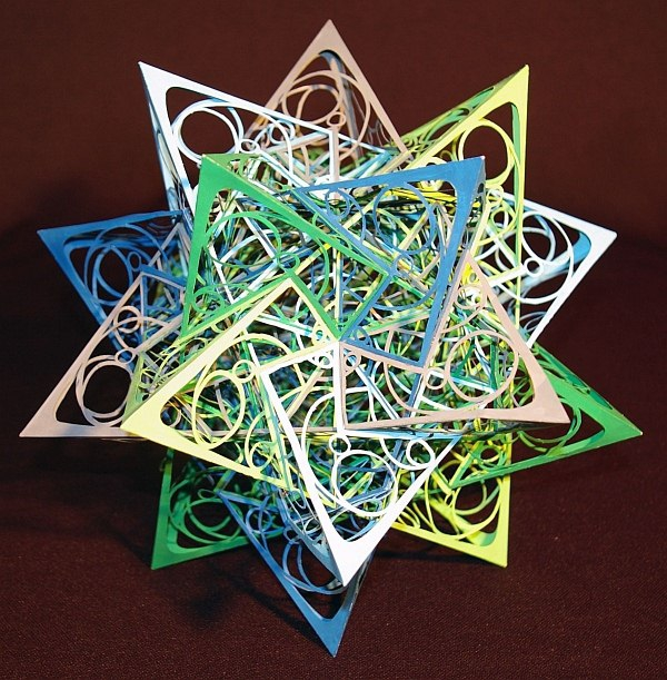 Geometry Used To Create Mind Blowing Origami!