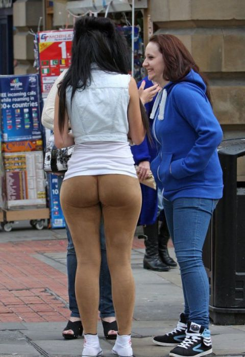 Big Butts in Public Places
