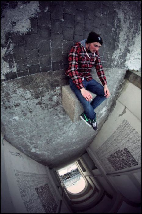 Scared of Heights Much?