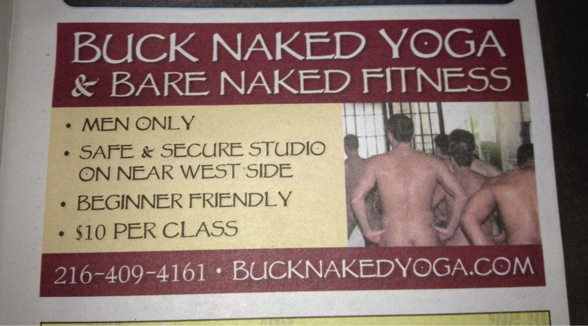 New Craze in the Yoga World: Naked Yoga for Men - Would You Dare?