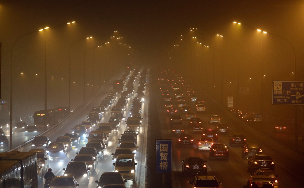 China's Skies: Toxic levels of pollution