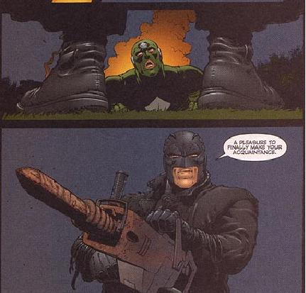 Midnighter Sodomizes (Not) Captain America to Death With a Jackhammer (Authority)