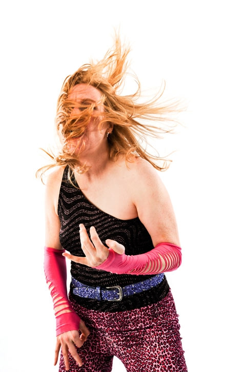 Dynamic Portraits of Air Guitar Champions