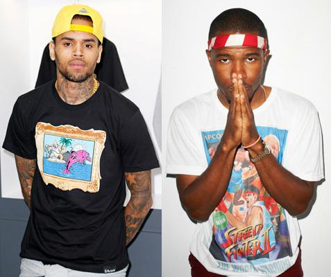 Chris Brown and Frank Ocean Fight for Parking