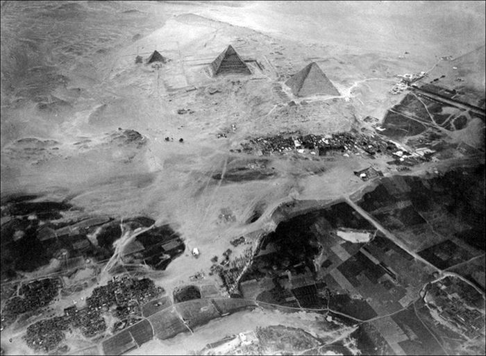 The Egyptian Pyramids from A Different Perspective